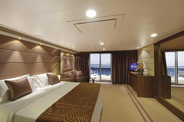 MSC Yacht Club accommodations