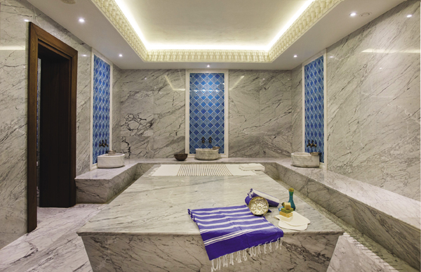Spa at the Marti Istanbul Hotel.