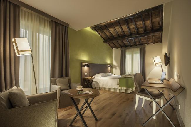Accommodations at Toscana Resort Castelfalfi in Tuscany.