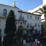 The former Versace Mansion in South Beach (now part of Hotel Victor).