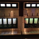 The wine station at the Studio Lounge.