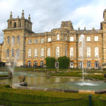 A view of the gardens at Blenheim Palace.