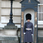 Guard at Buckingham Palace.