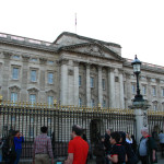 Buckingham Palace in Westminster.