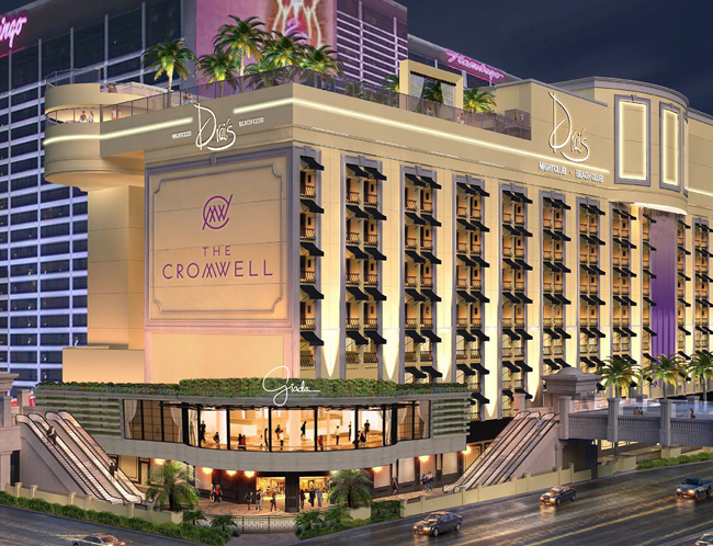 The Cromwell Hotel and Casino. (Photo courtesy of Caesars Entertainment.)