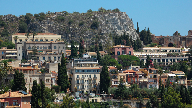 Views of Taormina, Sicily. (Photo courtesy of Artisans of Leisure.)