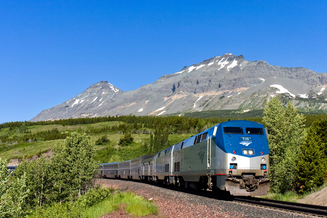 Amtrak's Empire Builder is one of over 18 new rail journeys. (Photo credit Mitch Goldman.)