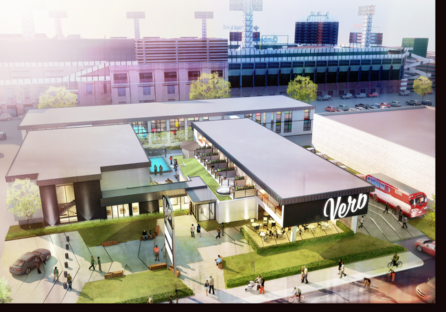 Rendering of The Verb, opening summer 2014.