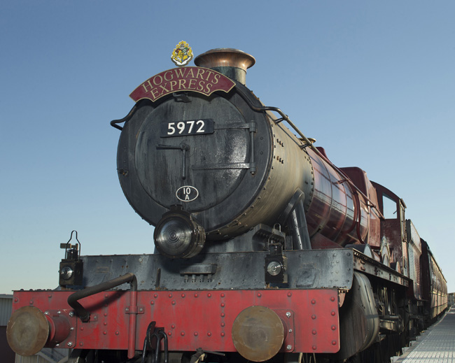 The Hogwarts Express that will debut as part of The Wizarding World of Harry Potter – Diagon Alley.