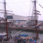 View of the Museum of Liverpool from the Maritime Museum.