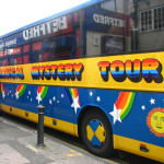 The Magical Mystery Tour in Liverpool takes Beatles' fans in and around town to see where The Fab Four lived and grew up.
