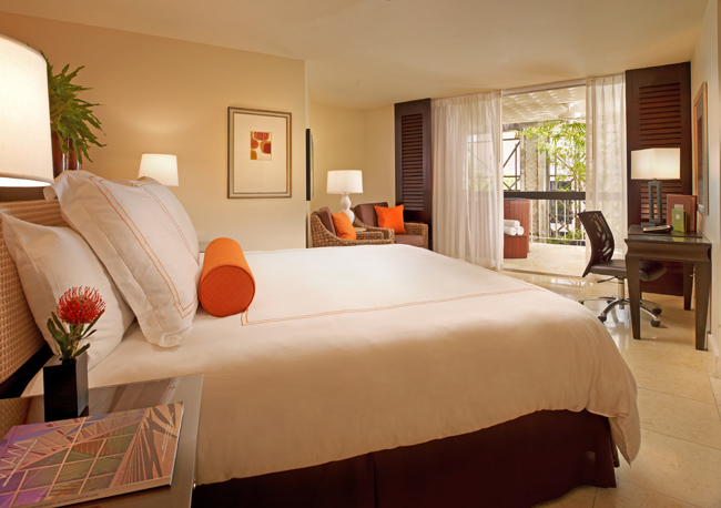 Guests can relax with breakfast in bed during their stay at the Mayfair Hotel.