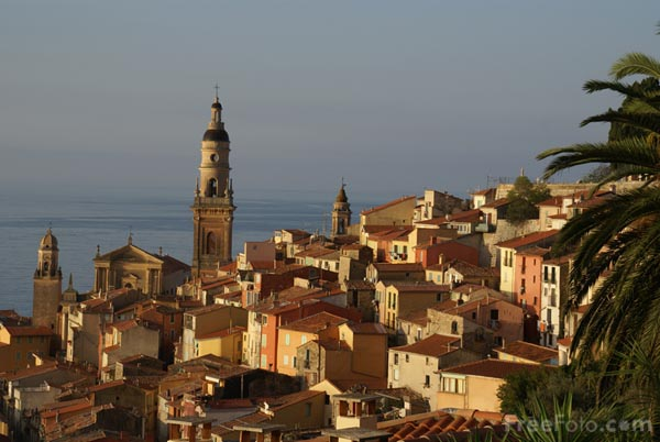 Views of Menton.