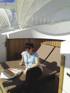 Me on board the Norwegian Getaway.