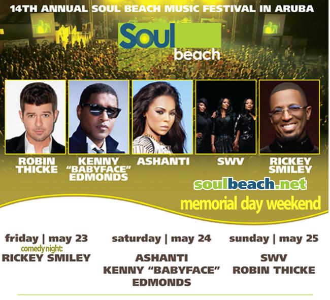 Soul Music Festival lineup.