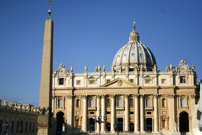 Views of St. Peter's while on the Director's Cut tour. (Photo courtesy of Context.)