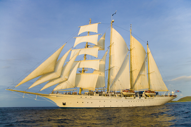 Photo Courtesy of Star Clippers USA
