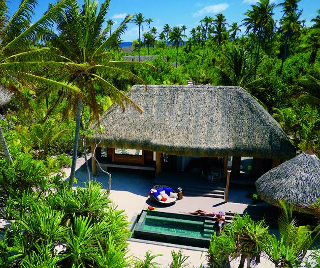 The Brando villa with private pool. (Photo credit tim-mckenna.com.)