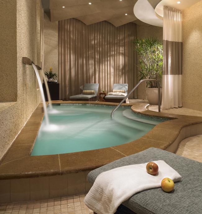 The Sandpearl Resort's spa pool.
