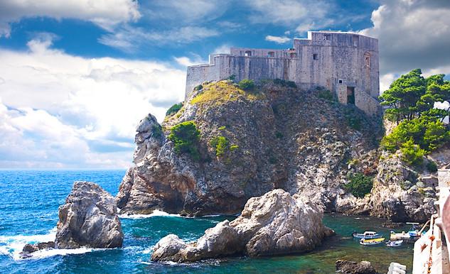 Fort Lovrjenac in Croatia.