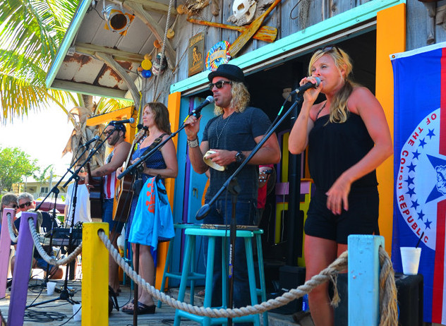 A live performance last year at The Key Largo Original Music Festival.