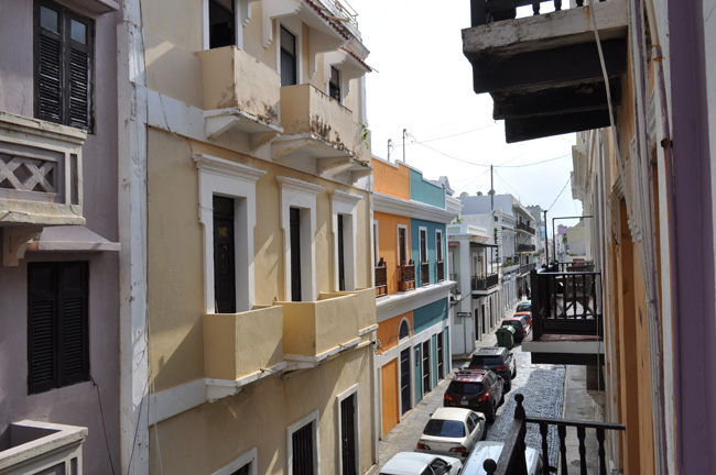 Views of Old San Juan from Casa Lila, where travelers can participate in a cheese-making class.
