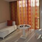 Simple and modern decor at El San Juan Resort & Casino's Main Tower Deluxe Rooms.