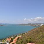 View from Las Brisas Ocean View room at El Conquistador Resort.