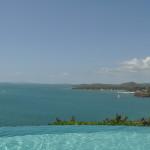 Views from the infinity pool at Las Casitas Village at El Conquistador Resort.