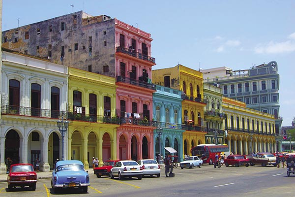Collette offers tours to Cuba, with a visit to Havana.