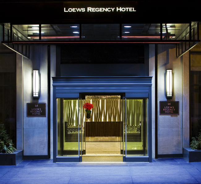 The Loews Regency NYC re-opened its doors to guests in January.