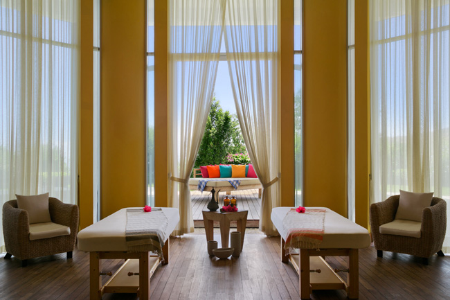 The Spa Suite in Kempinski Hotel Barbaros Bay.