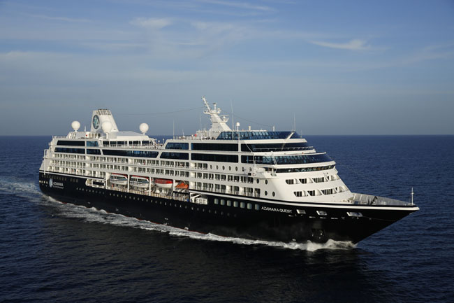The Azamara Quest makes cruising an intimate experience with less than 1,000 passengers on board.