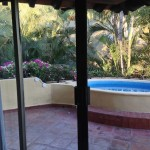 Private pool on terrace at CasaVelas—ideal for honeymoons