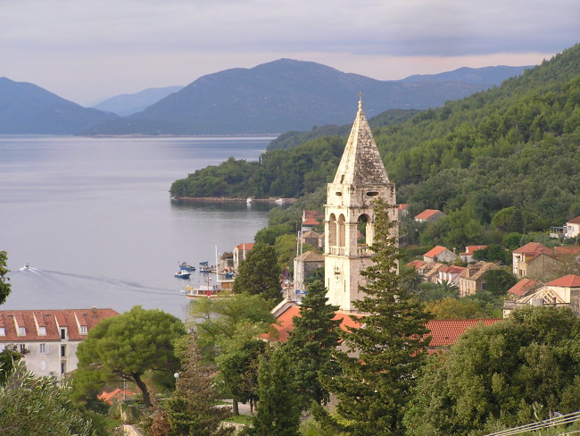 The Sipan church is part of the On Foot Holidays tour of Croatia.