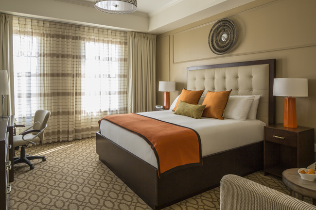 A suite at The Hotel Zamara, which opens in May.