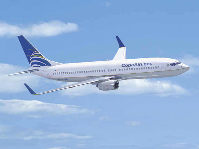 Copa Airlines starts travel from Fort Lauderdale.