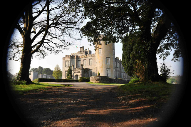 Dromoland Castle in Ireland  gives kids the royal treatment.