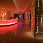 The reception area in the lobby of The Condado Plaza Hilton Hotel.