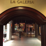 The entrance to the on-property shopping area at El San Juan Resort & Casino, A Hilton Hotel.