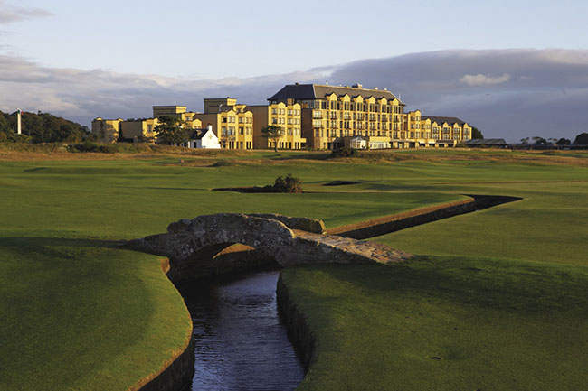 Old Course Hotel, Golf Resort & Spa in St. Andrews, where the game was born.