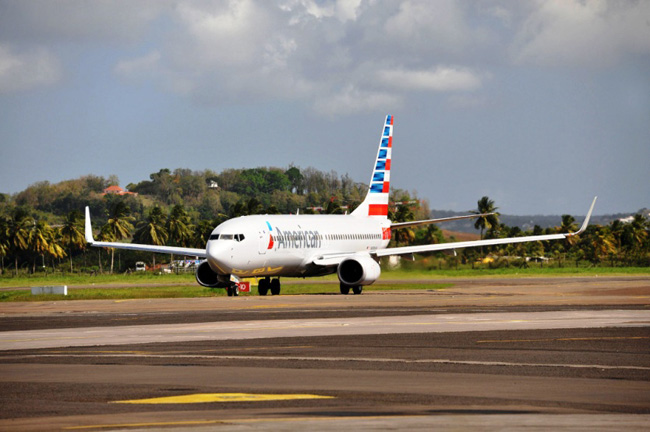 American Airlines adds non-stop service to Martinique.