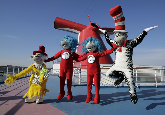 Carnival Cruise's Seuss-a-palooza.