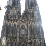 The impressive Cologne Cathedral.