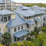 View of the Villas of the Key West Luxury Village.