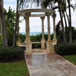 Little gazebos around Beaches Resort are a great place to relax or use for a small wedding ceremony.