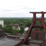 View of the coal mine, Zollverein in Essen - a UNESCO World Heritage site.