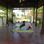 The Yoga Pavillion at Sandals LaSource.