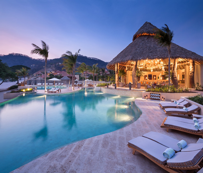 Mukul Beach, Golf & Spa, located along the shore of Nicaragua's lush Emerald Coast, is featured on the cover of this year's Island Destinations brochure.