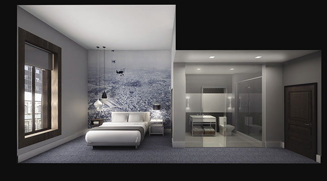 Accommodations at Le Meridian Tampa, opening June 2014.